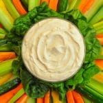 Low Fat Chipotle Ranch Dip close up photo