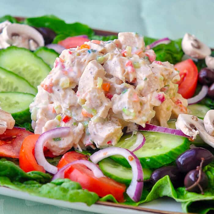 Low Fat Ranch Chicken Salad