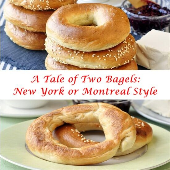 New York or Montreal Style Bagels