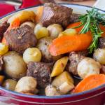 St. John's Stout Stew - made with local root vegetables and Yellowbelly Brewery's St. John's Irish Stout.
