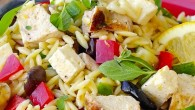 Mediterranean Lemon Chicken Orzo Salad