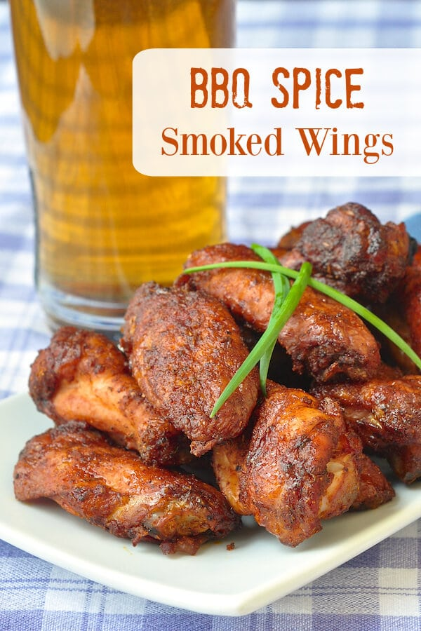 BBQ Spice Smoked Wings