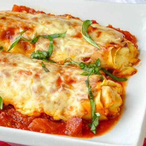 Chicken Cannelloni Margherita