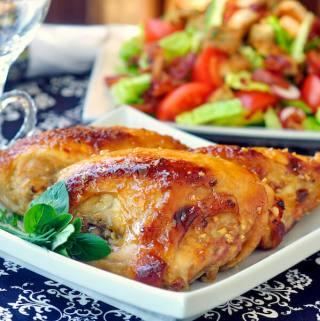 Glazed Honey Dijon Chicken Breasts