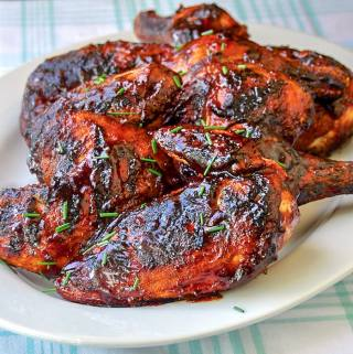 Double Barbecue Chicken