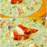 Lobster Chowder image for Pinterest