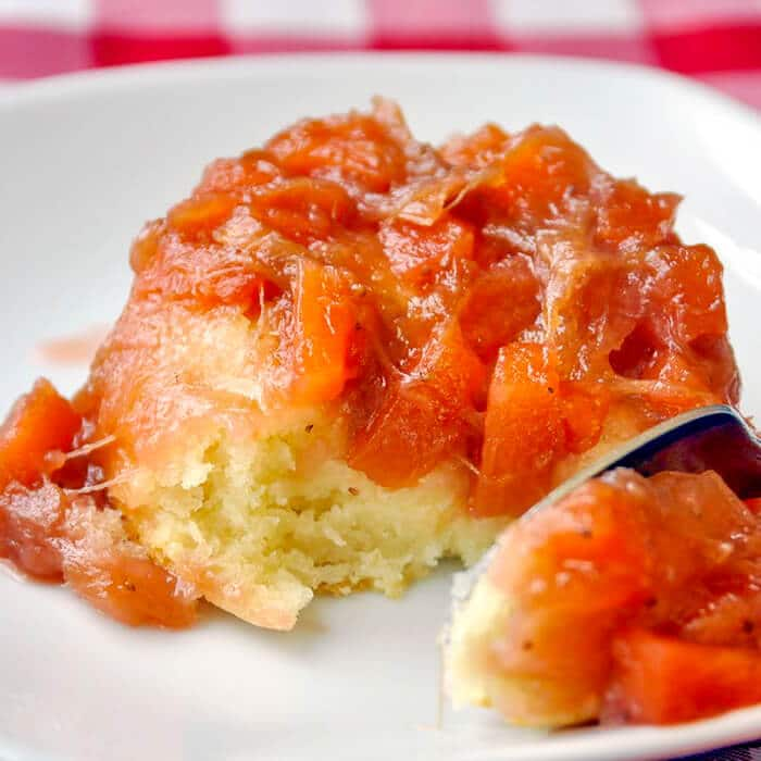 Quick Fruit Cobbler - in single servings or as a family sized dessert.