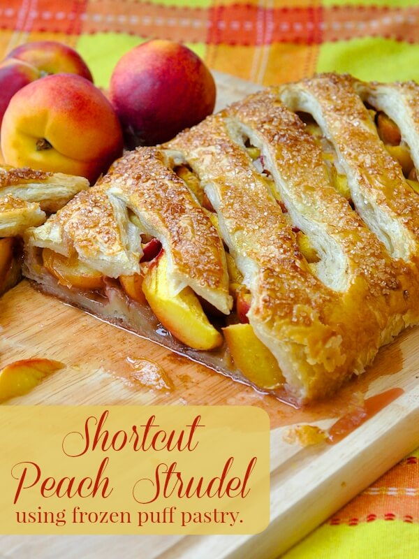 Shortcut Peach Strudel