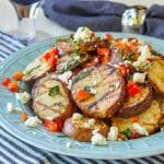 Warm Grilled Potato Salad with Lemon and Oregano square cropped featured image