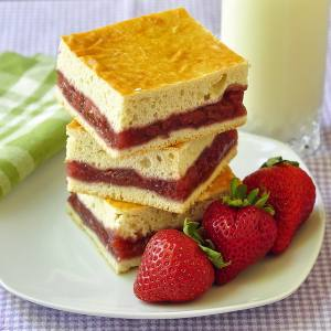 Strawberry Cobbler Squares