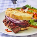 Smoked Beef Brisket Sandwich