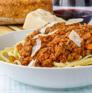Best Bolognese Sauce. Slow simmered to flavourful perfection!