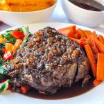 Ginger Braised Beef Roast with Hoisin Jus