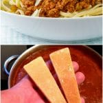 The Best Bolognese Sauce Collage for Pinterest