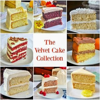 The Velvet Cake Collection collage photo for Pinterest