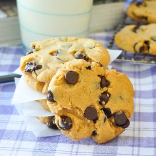 Soy Butter Chocolate Chip Cookies