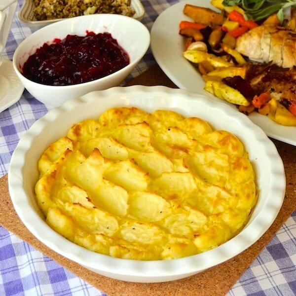 Garlic and Lemon Duchess Potatoes