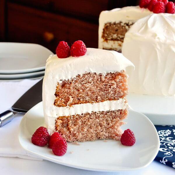 Raspberry Velvet Cake