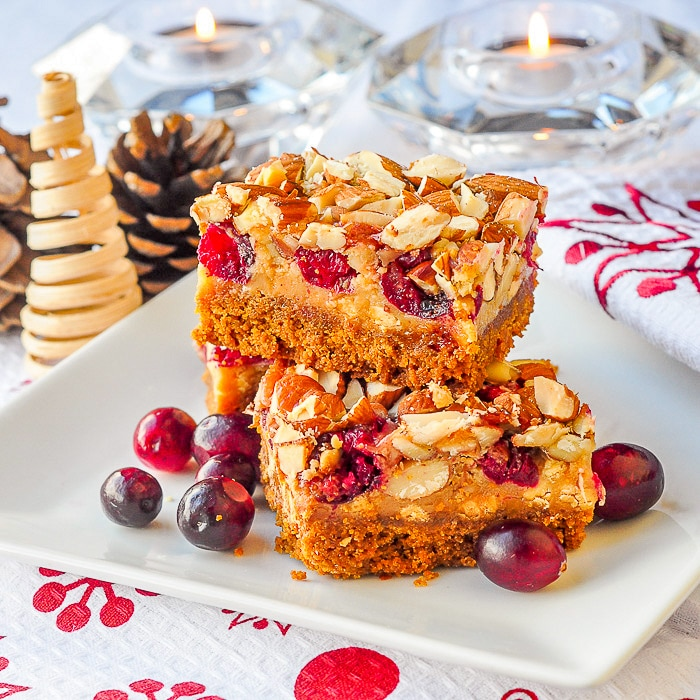 Cranberry White Chocolate Magic Cookie Bars featured image