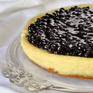 NEW VIDEO RECIPE: Blueberry Sour Cream Flan