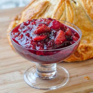 Citrus Fig Cranberry Sauce