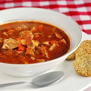 VIDEO RECIPE: Turkey Bacon and Tomato Soup