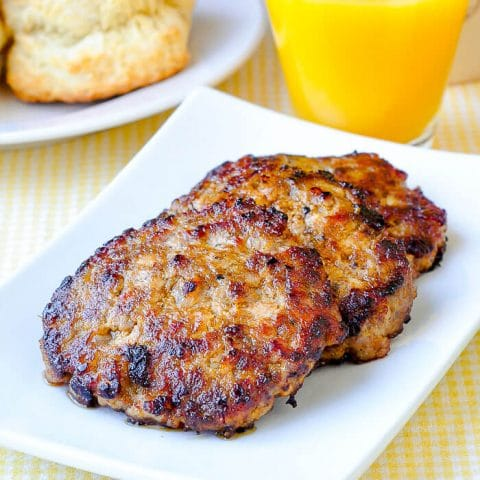 Easy Homemade Breakfast Sausage