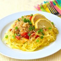 Warm Roasted Spaghetti Squash and Quinoa Salad
