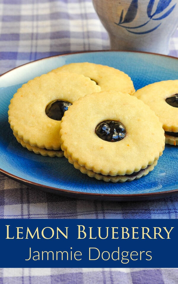 Lemon Blueberry Jammie Dodgers