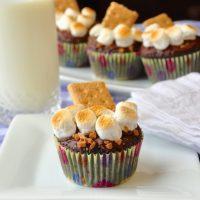 Skor S'mores Cupcakes