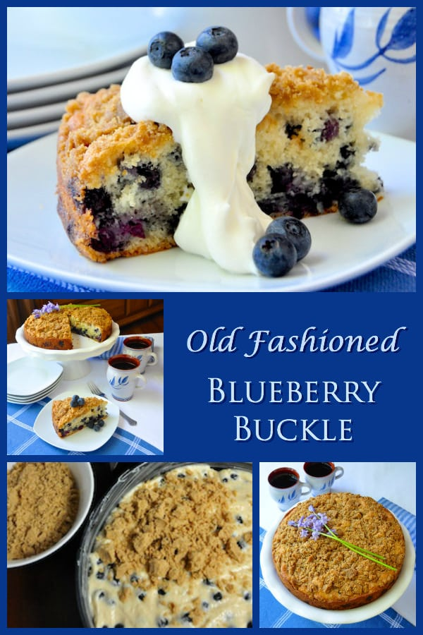 Blueberry Buckle - areal old fashioned favourite from ...
