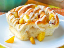 Ginger Peach Rolls