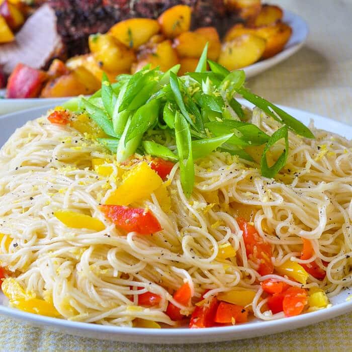 Lemon Ginger Noodles