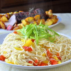 Lemon Ginger Noodles