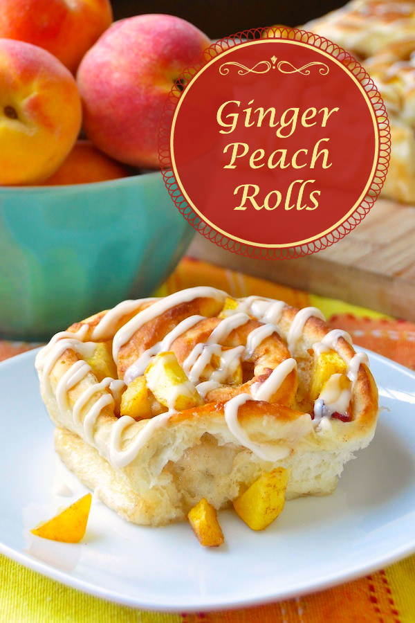 Ginger Peach Rolls