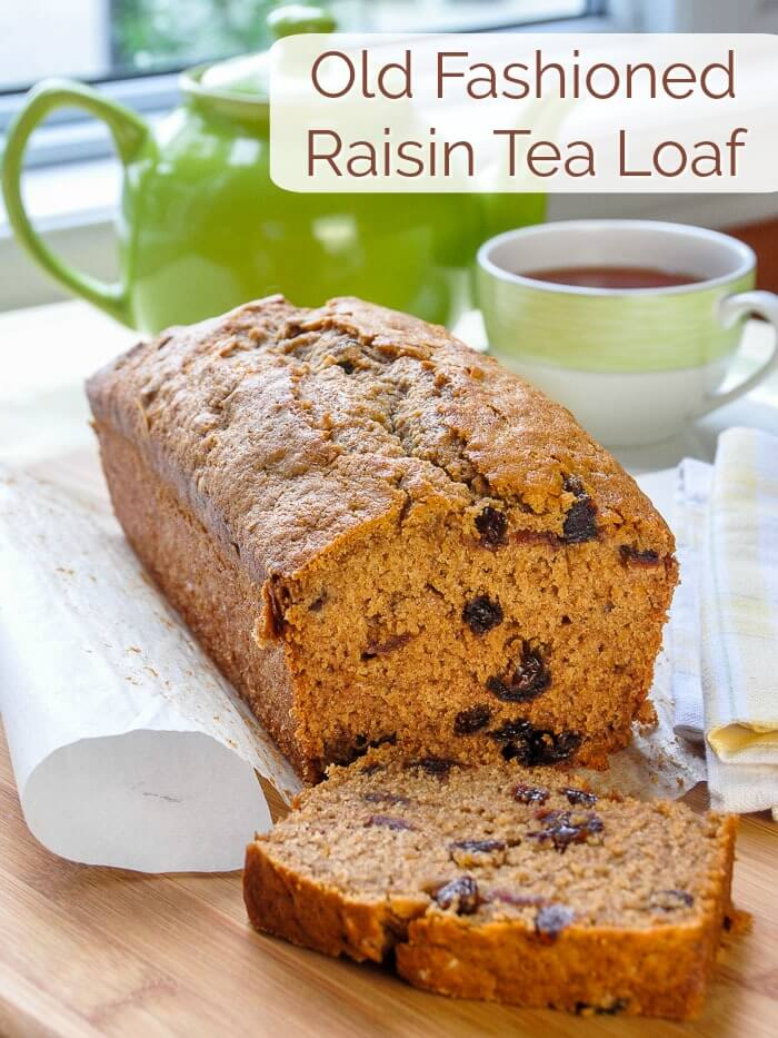 Old Fashioned Raisin Tea Loaf