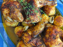 Smoked Paprika Chicken and Potatoes