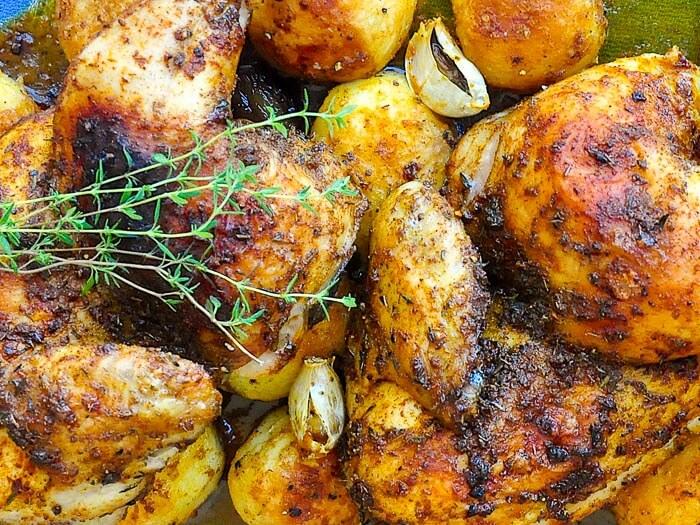 Smoked Paprika Chicken and Potatoes