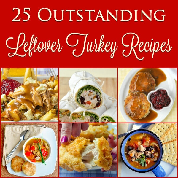 25 Fantastic Leftover Turkey Recipes