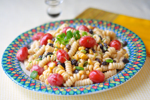 Southwestern Chipotle Lime Pasta Salad