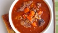 Braised Short Rib Soup - a new version of Beef Barley Soup!