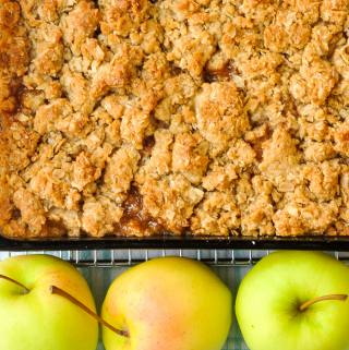 Apple Crisp …or Crumble – Back to Basics