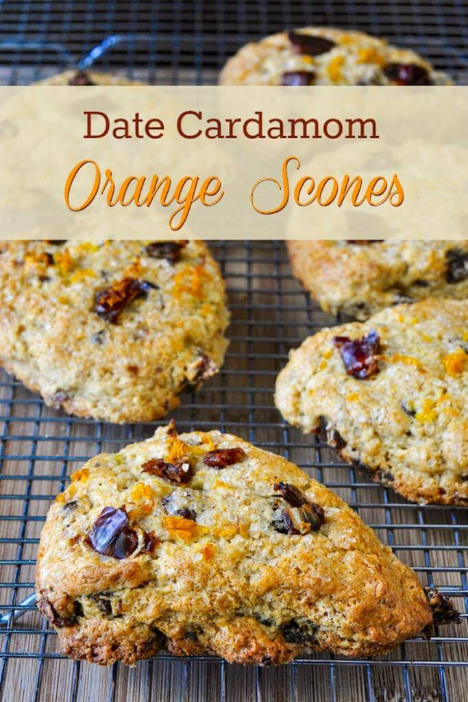 Date Cardamom Orange Scones - Rock Recipes