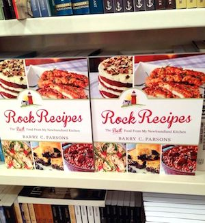 Coles bookstore Rock Recipes First look bookshelf