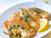 Lemony Easy Chicken Piccata