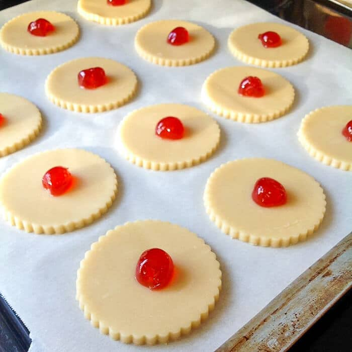 Old Fashioned Shortbread Cookies ready for the oven