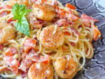 Creamy Garlic Scallop Spaghetti with Bacon.jpg