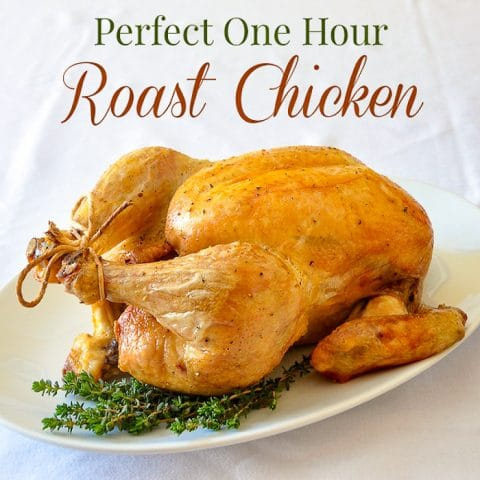 How to Roast a Chicken in 1 hour