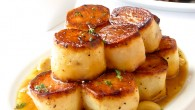 Garlic Thyme Fondant Potatoes