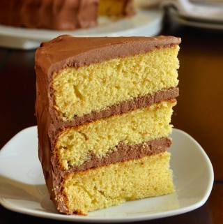 The Best Yellow Cake Recipe, Homemade from Scratch featured image